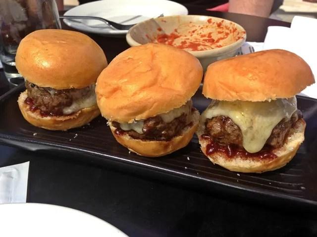 Mini Cheeseburgers Madison London