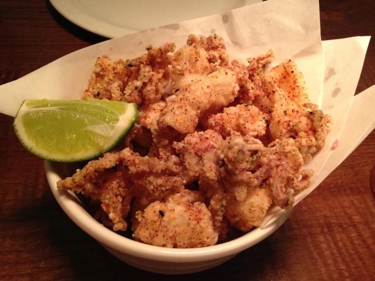 Fried Squid Flesh&Buns