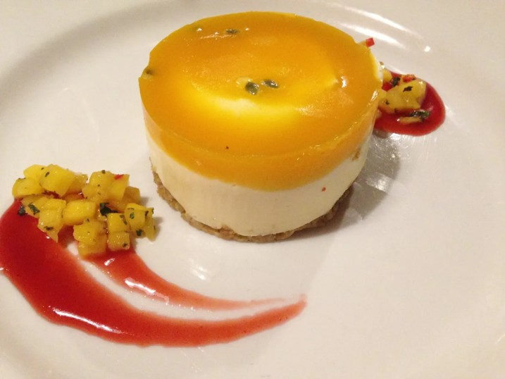 Passionfruit Cheesecake and Mango Salsa | SMITHS Spitalfields - The P-Ho Diaries