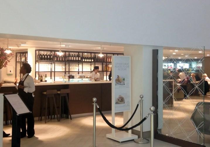 Debenhams Oxford Street Store Bar