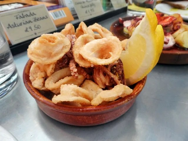 Fried Calamari Tapas