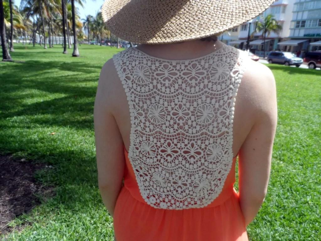 Topshop Lace Orange Maxi Dress - The P-Ho Diaries
