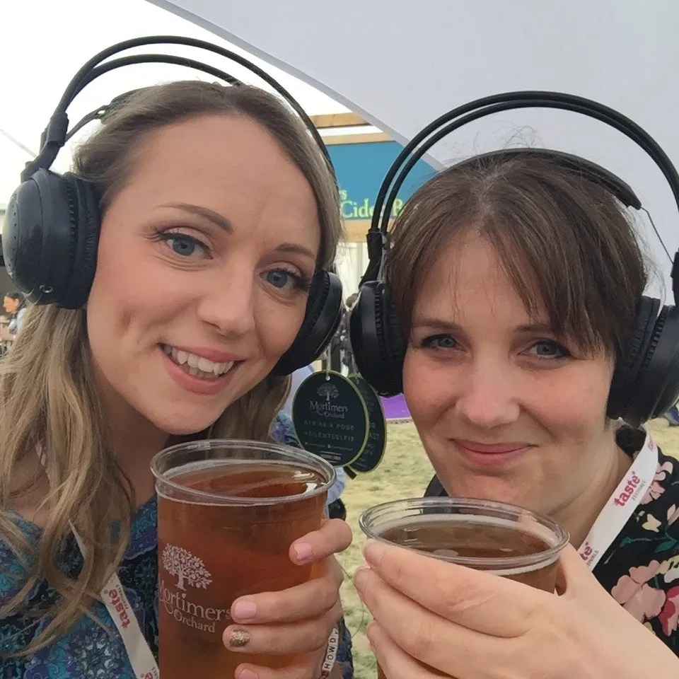 Silent Disco at Mortimers Tent Taste of London
