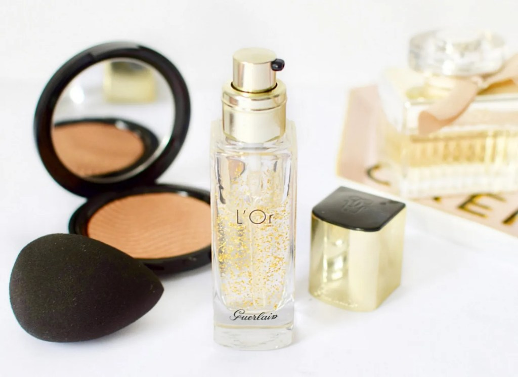 Guerlain L'Or 24 carat Gold Make Up Base Primer Reiew
