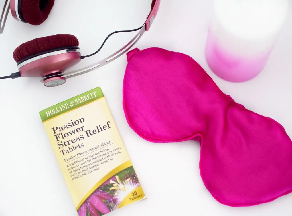 Passion flower stress relief tablets