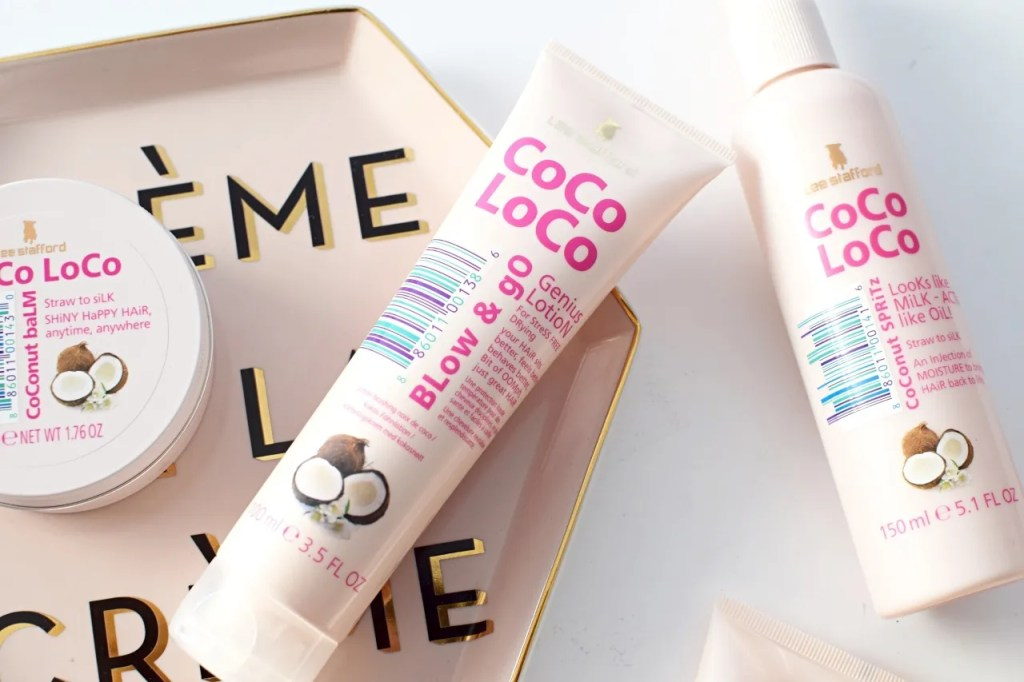 Lee Stafford Coco Loco Blow Dry Lotion Review