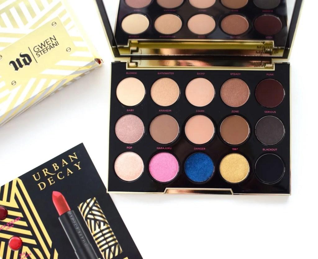 Urban Decay x Gwen Stefani Eyeshadow Palette Review