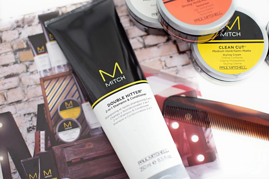 MITCH Double Hitter Paul Mitchell Mens Hair Review