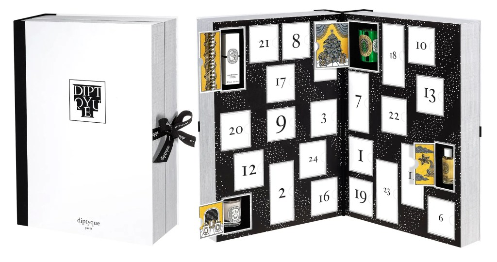 Diptyque advent calendar 2016