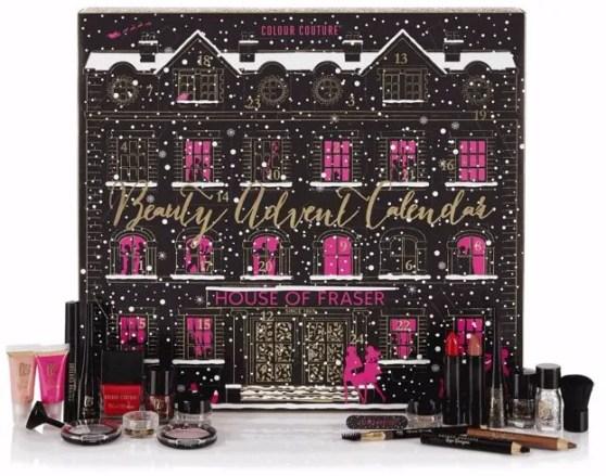 House of Fraser beauty advent calendar 2016