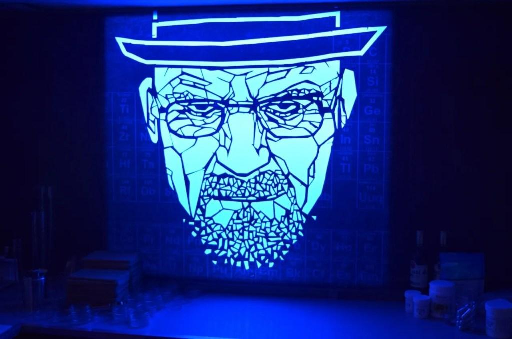 Heisenberg breaking bad pop up light up