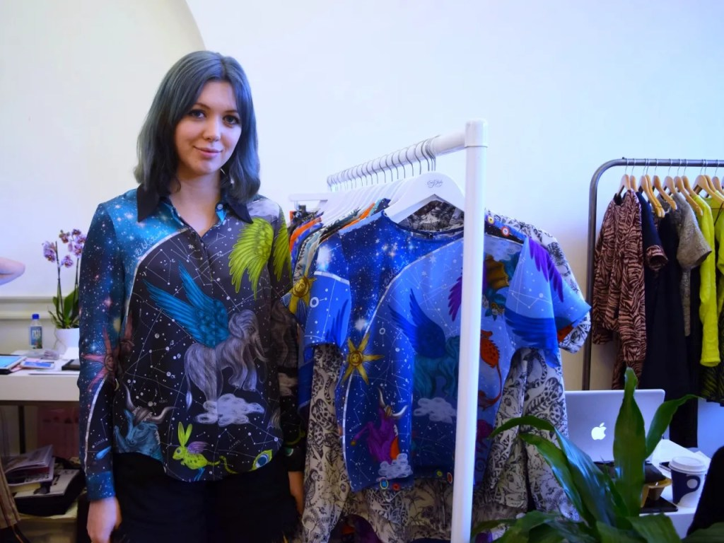 EMma J Shipley LFW AW15 Designer Showrooms