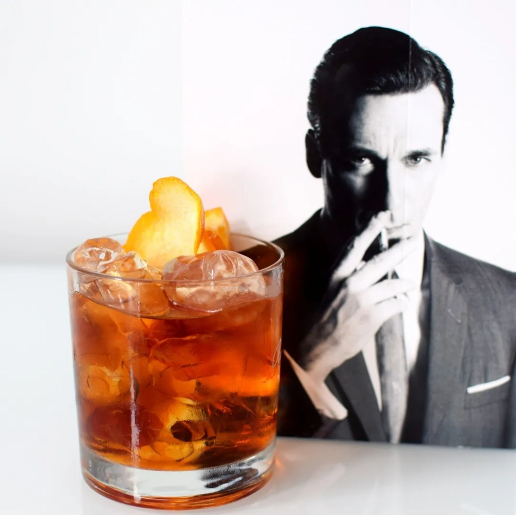 Don Drapers Old Fashioned Cocktail | The LDN Diaries