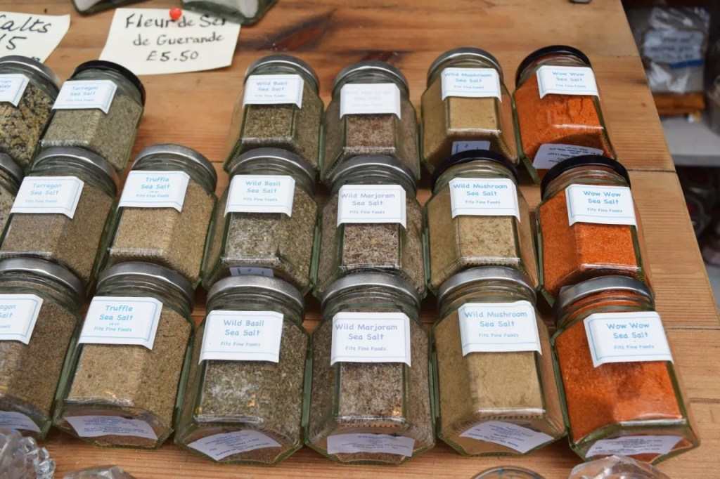 Sea Salts Borough Market London | The LDN Diaries