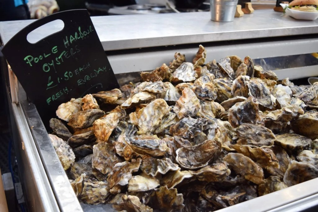 Oysters Fresh Borough Market London | The LDN Diaries