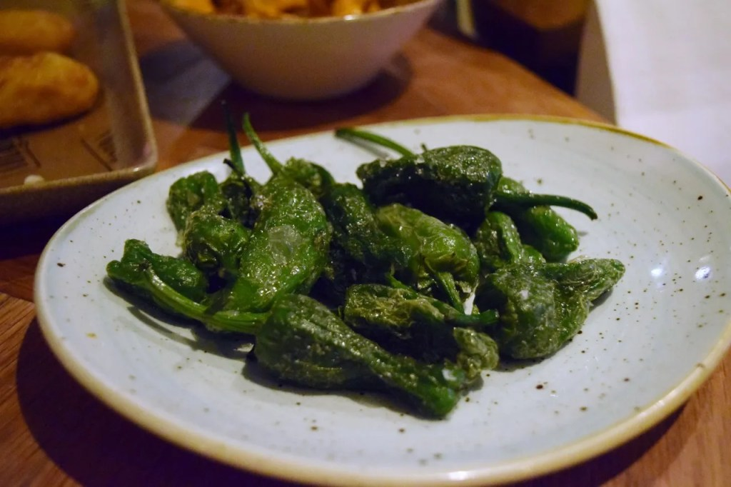 Peppers at Iberica Tapas
