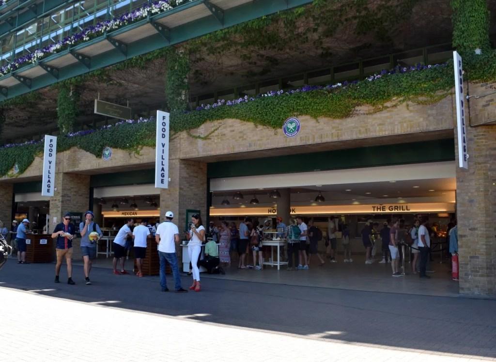 Wimbledon cafes