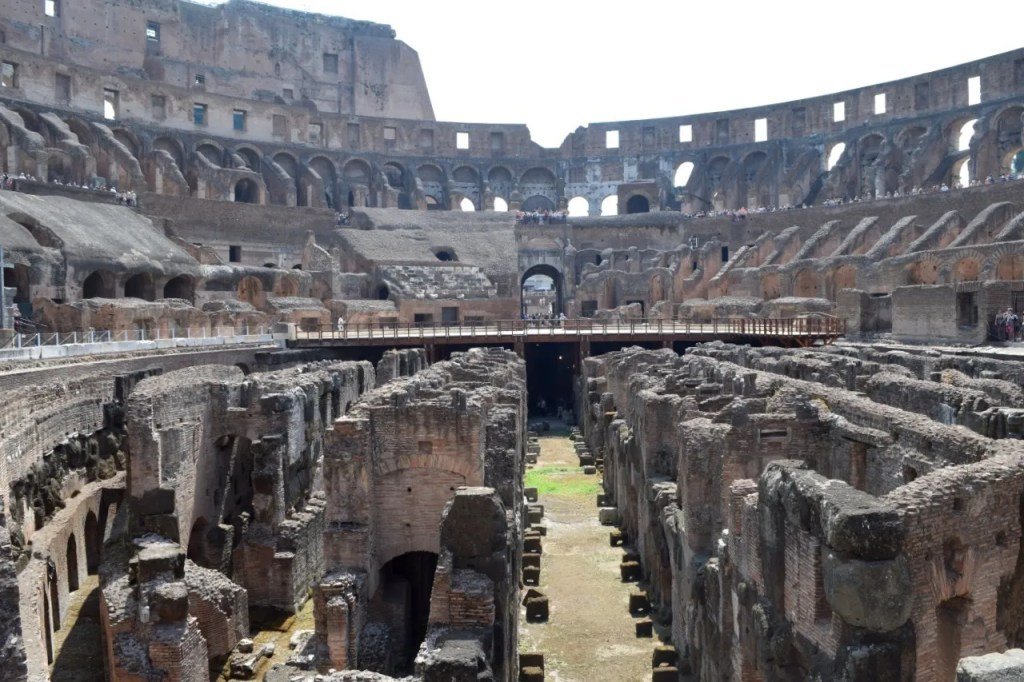 Underground at the colosseum   Places To Visit In Rome   The LDN Diaries