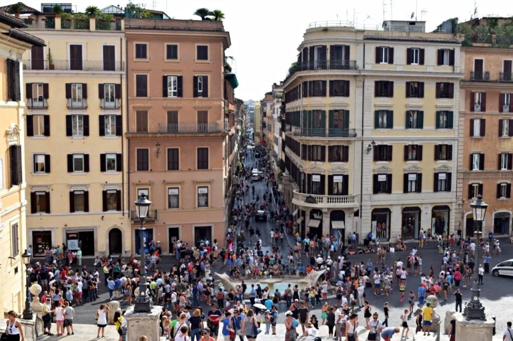Piazza de Spagna Rome   Where to shop Rome