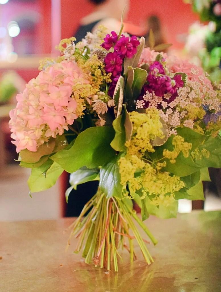 Flower arranging class at Villandry with Moyses Stevens