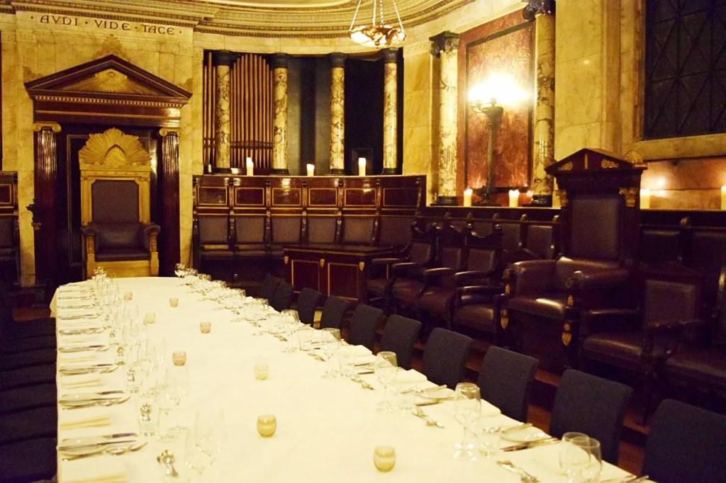 Masonic Temple |Andaz London | The LDN Diaries