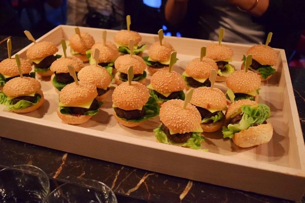 Mini Burgers | Andaz London | The LDN Diaries