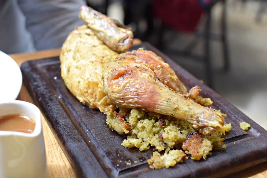 Half chicken | Hix Tramshed | The LDN Diaries