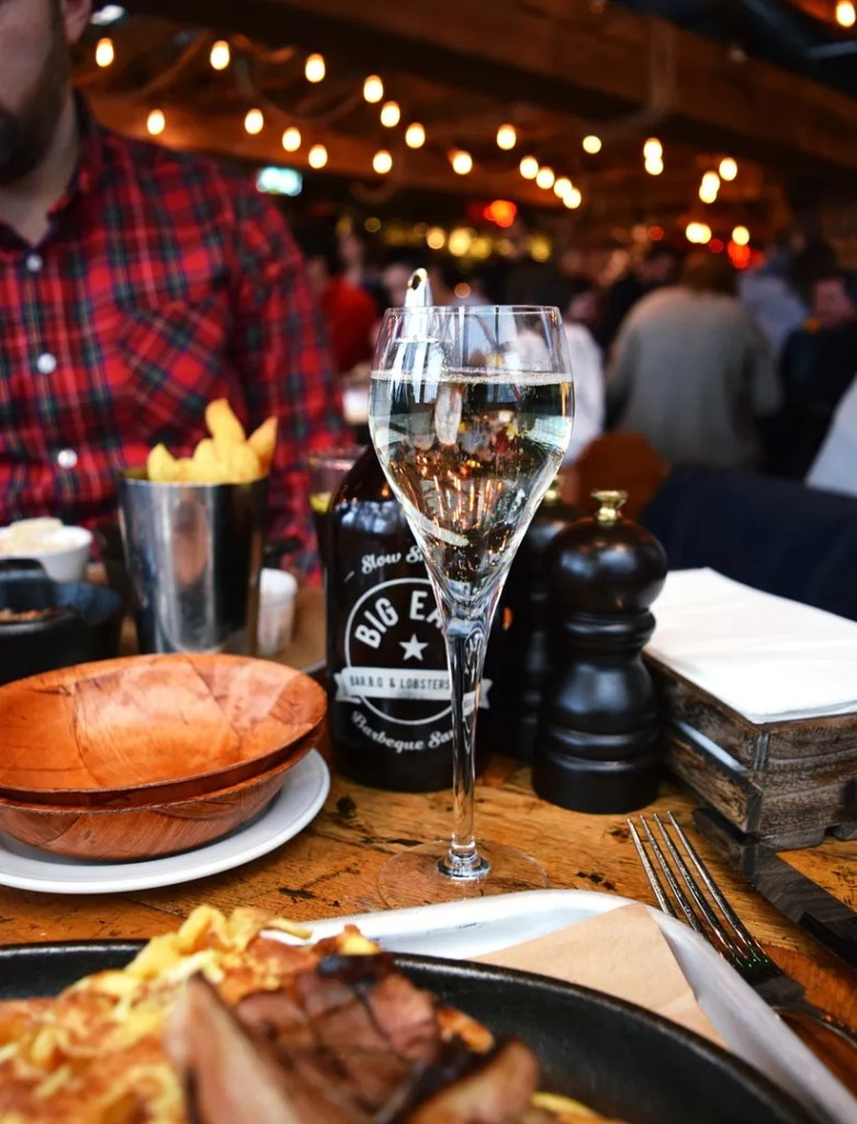 Prosecco bottomless brunch Big Easy