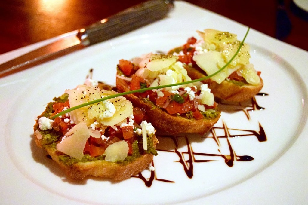 Bruschetta at The Meat Co