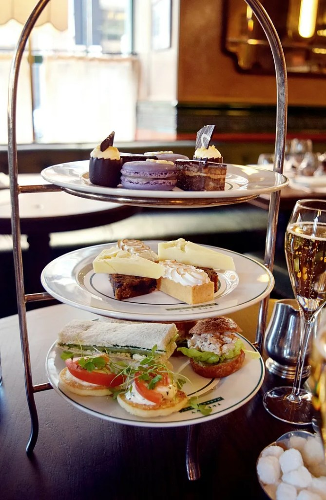 Afternoon Tea The Ivy Market Grill Covent Garden   The LDN Diaries
