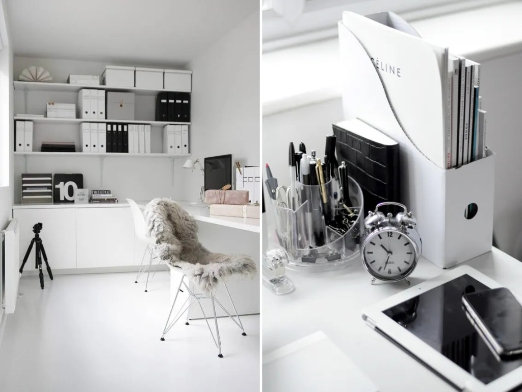 5 tips to a minimalist home office