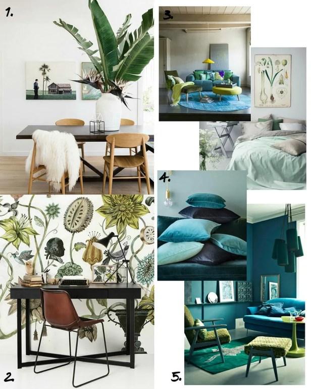 Botanical Home Decor Inspiration 2016 - The LDN Diaries UK Lifestyle Blog