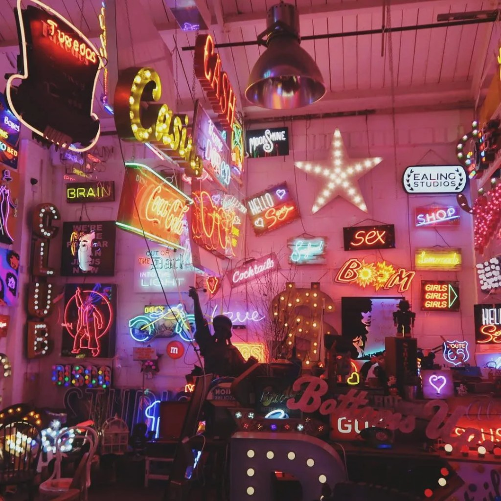 Gods Own Junkyard - 10 best places to Instagram London - London Lifestyle Blog