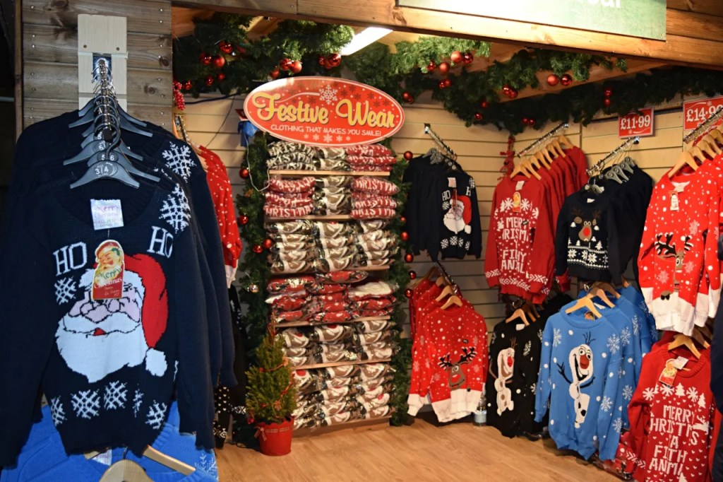 Christmas Jumpers Stall