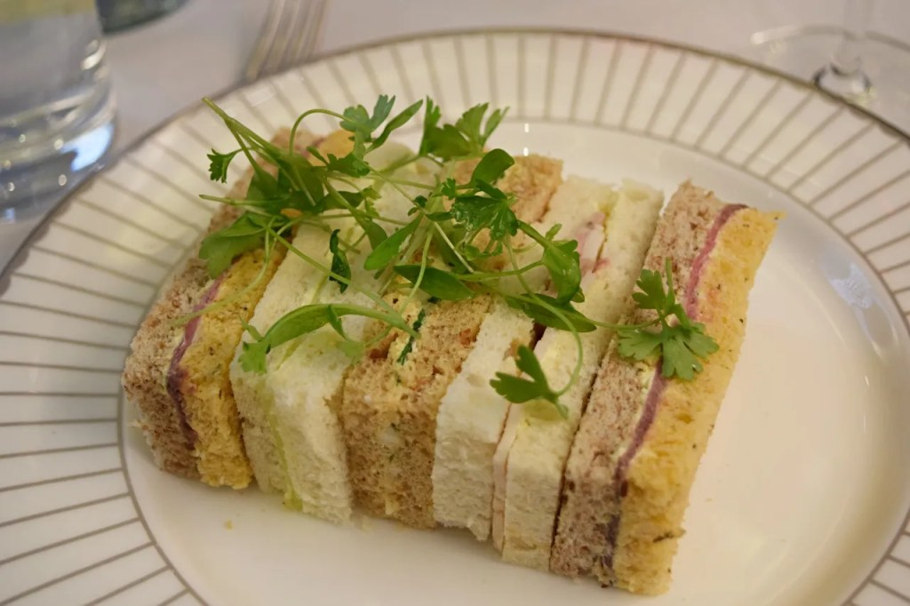 Festive Afternoon Tea Sandwiches - Corinthia Hotel London