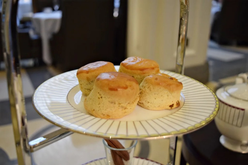 Scones at Afternoon Tea Corinthia