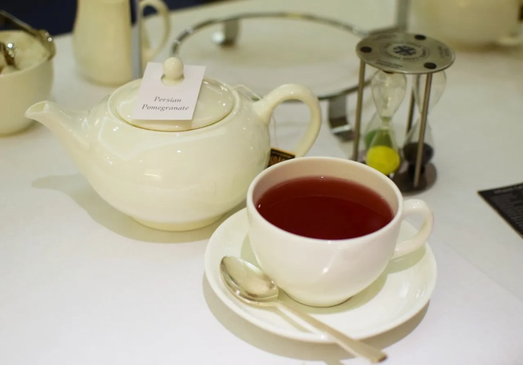 Afternoon Tea At Lancaster London Hotel Review Persian Pomegranate Tea