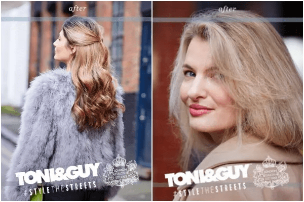 Toni&Guy Hair Meets Wardrobe #StyleTheStreets