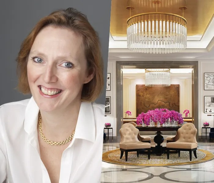 Emma Bache at The Corinthia Hotel