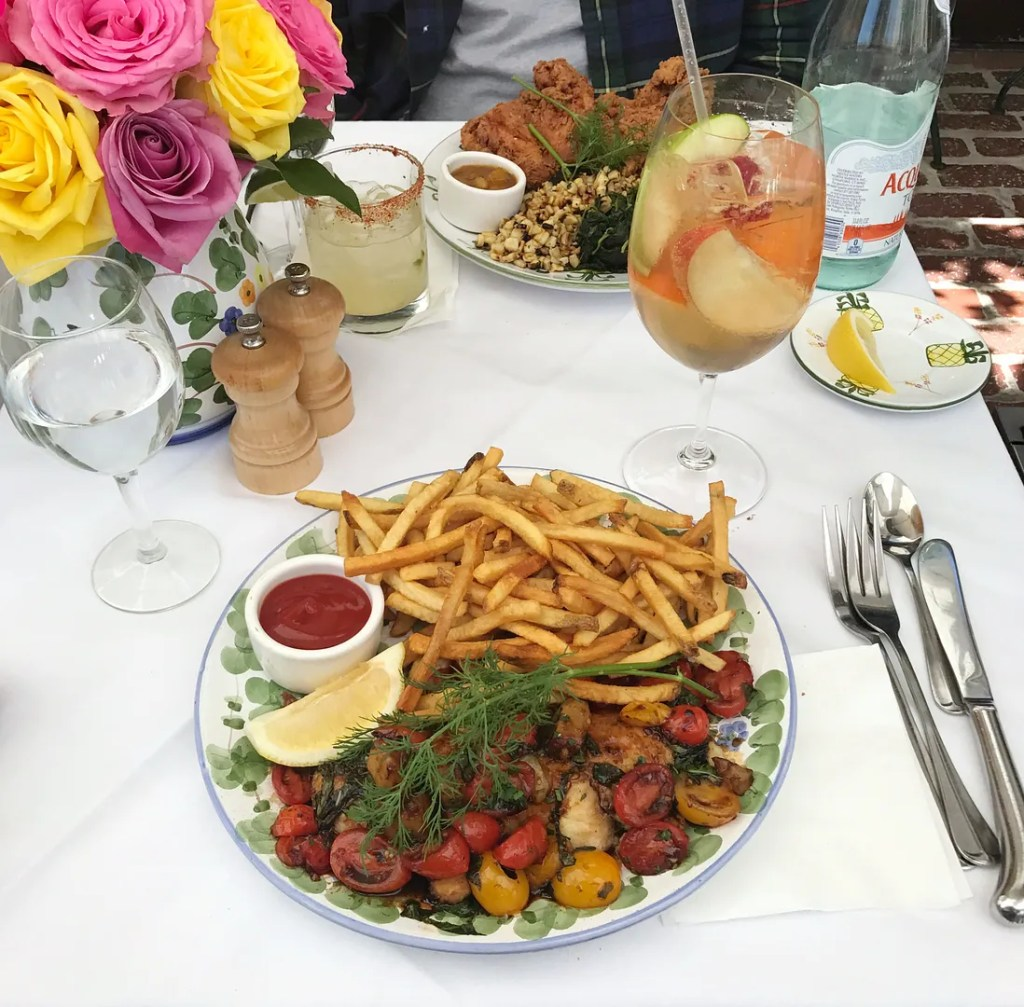 Lunch At The Ivy Hollywood - 10 Things To Do In Los Angeles