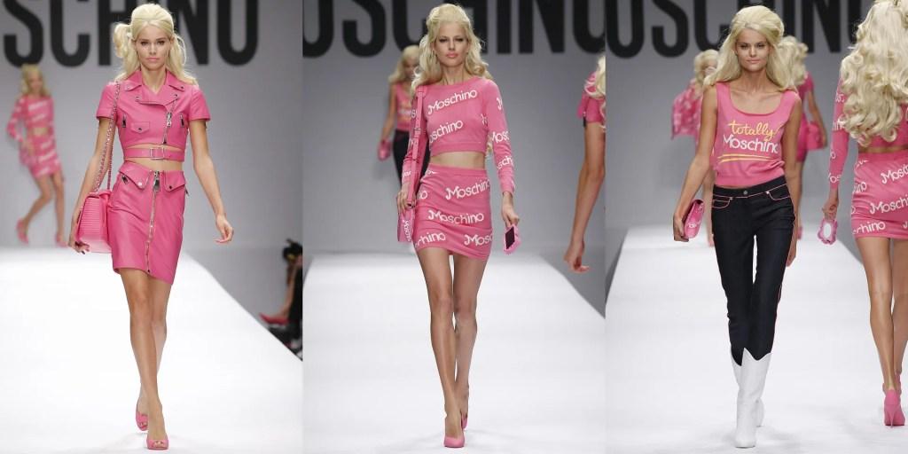 Moschino Barbie SS15