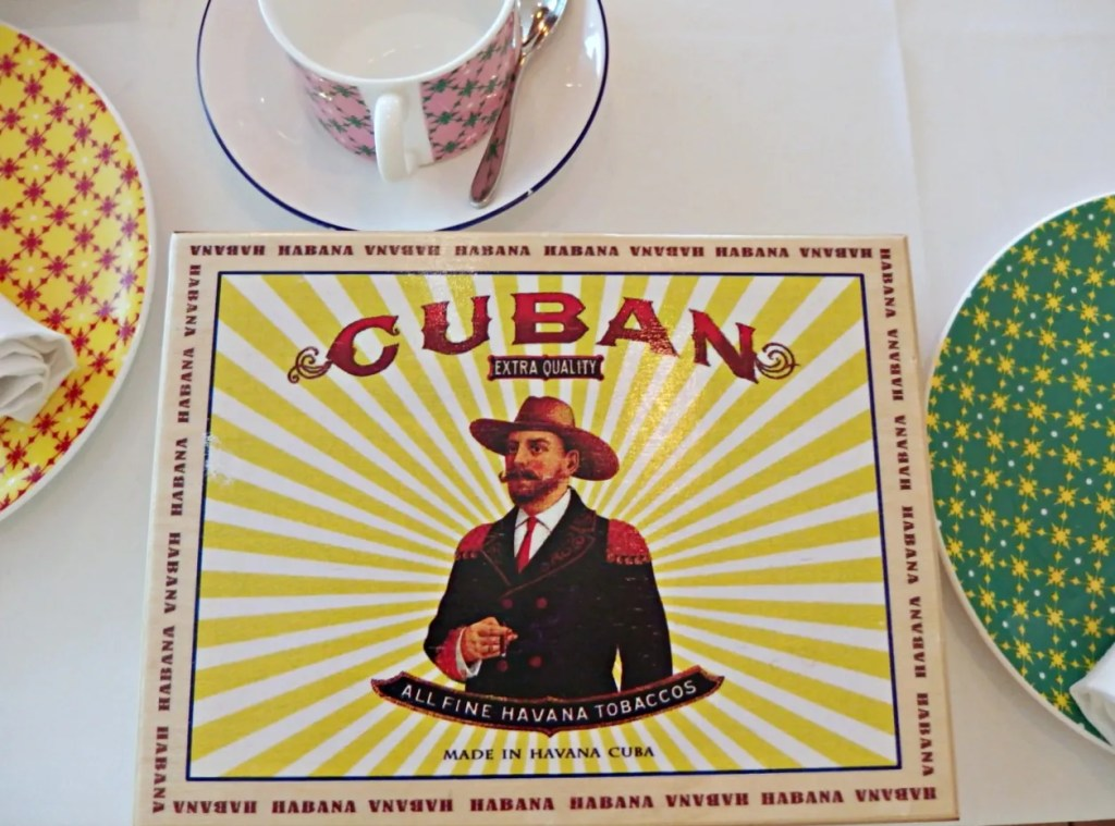 Cuban Afternoon Tea