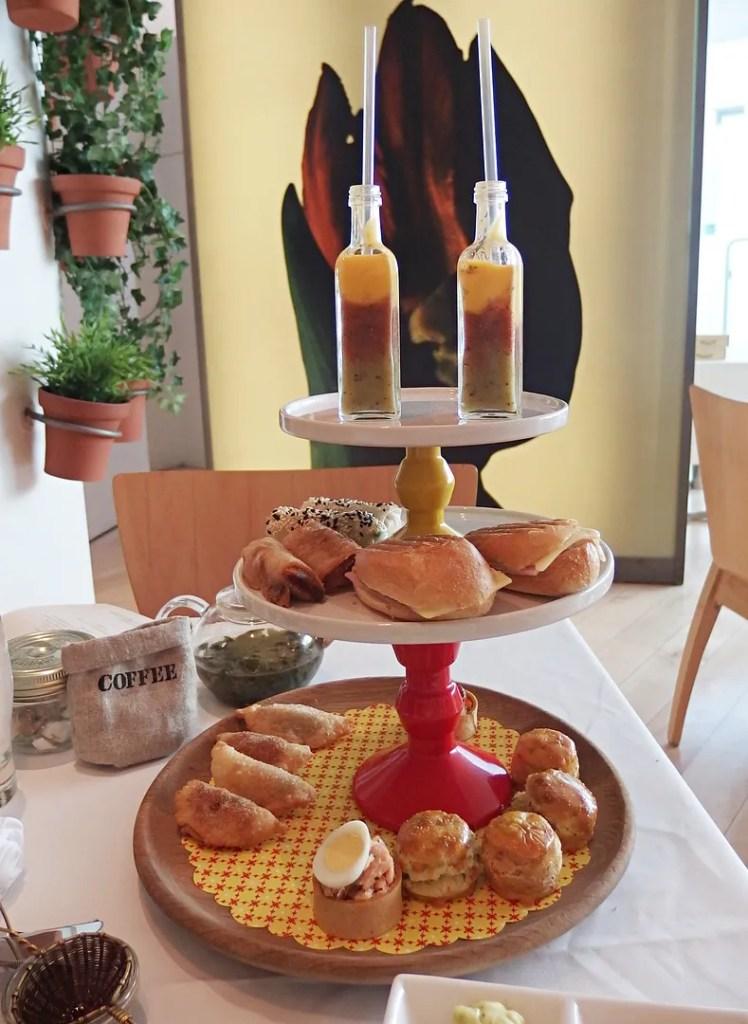 Cafecito Afternoon Tea Savoury Selection