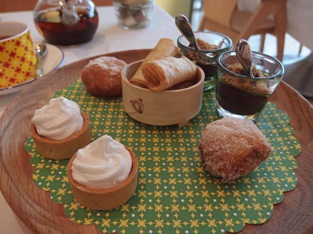 Cafecito Afternoon Tea at Asia de Cuba