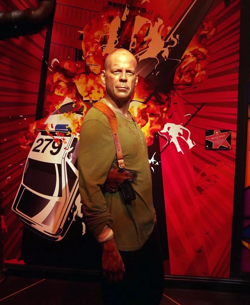 Bruce Willis Madame Tussauds