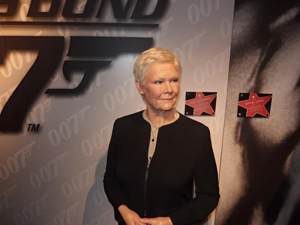 Judi Dench Madame Tussauds