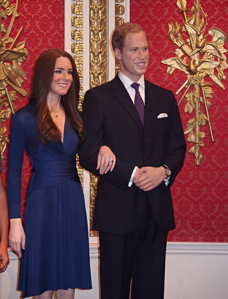 Kate and William Madame Tussauds