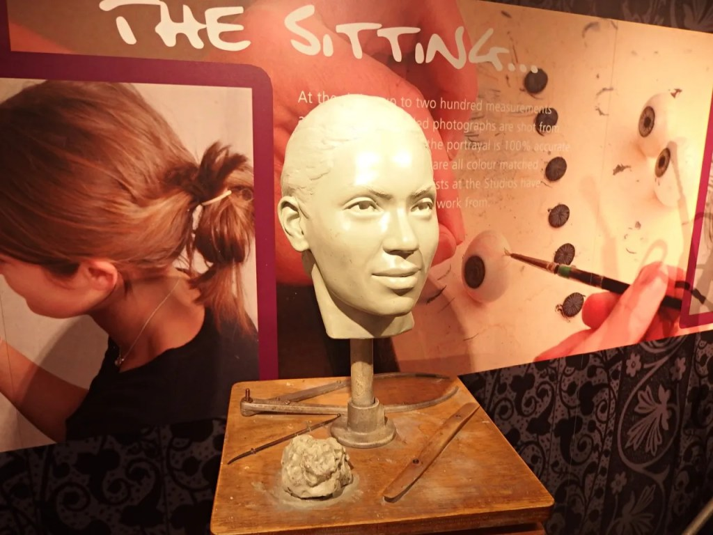 Behind the scenes Madame Tussauds