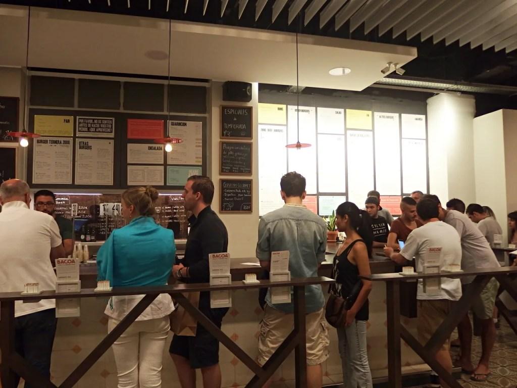 Bacoa Burgers Barcelona