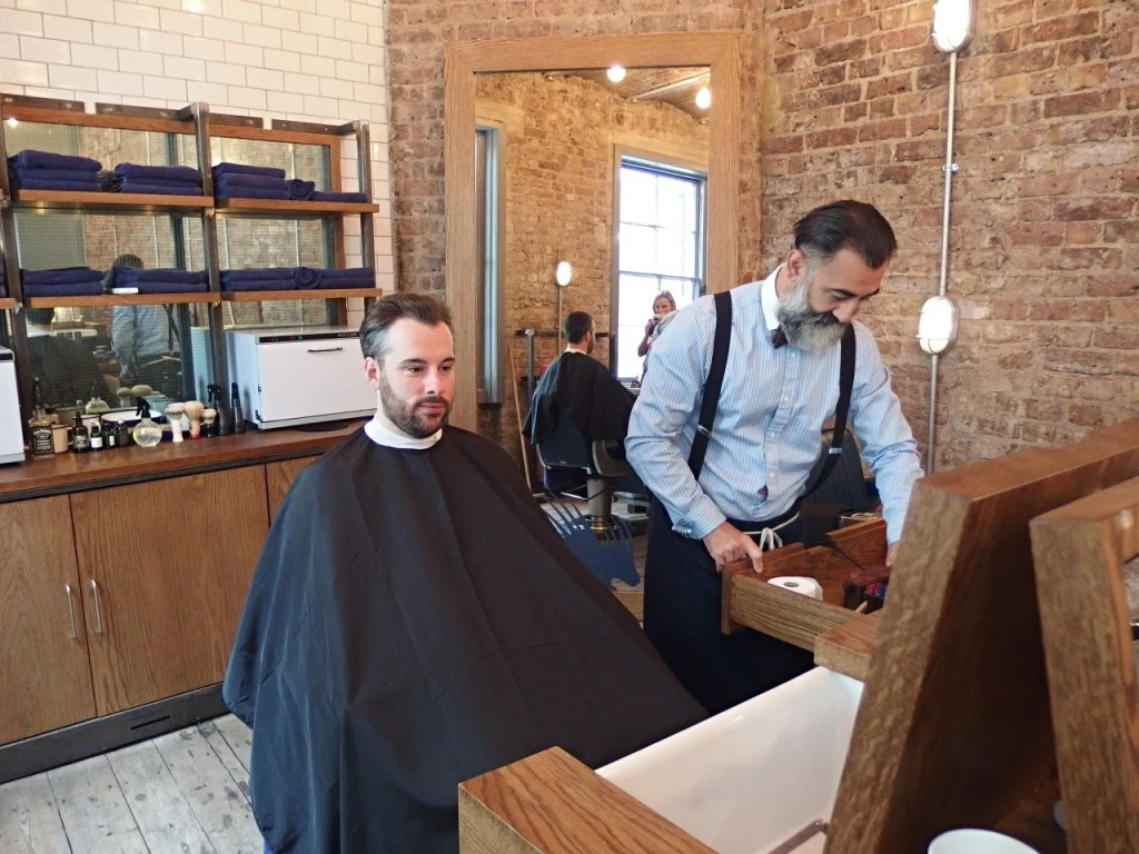 Ruffians Barbers Covent Garden